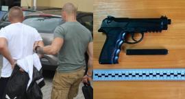 Próba rozboju w sklepie przy Arkuszowej, kradzież laptopa - 29-latek w areszcie