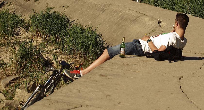 Rower, Praski rowerzysta - zdjęcie, fotografia