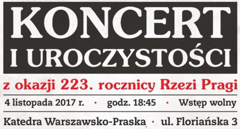 Koncerty, Koncert okazji rocznicy Rzezi Pragi - zdjęcie, fotografia
