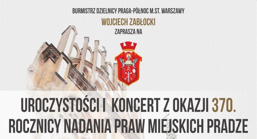 Koncerty, Uroczystości okazji rocznicy nadania miejskich Pradze - zdjęcie, fotografia