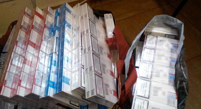 Bezpieczeństwo, paczek papierosów znaleźli wraku Targowej - zdjęcie, fotografia