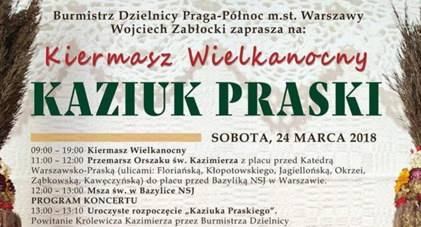 Urząd dzielnicy, Kiermasz Wielkanocny czyli Kaziuk Praski - zdjęcie, fotografia