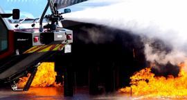 Pożar samochodu przy Dworcu Wileńskim