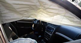 Zderzenie trzech aut na Jagiellońskiej [ZDJĘCIA]