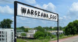 Na stacji Warszawa ZOO pojawiły się nowe wiaty