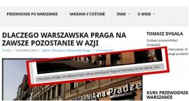 Praga wypadła z Warszawy do Azji?