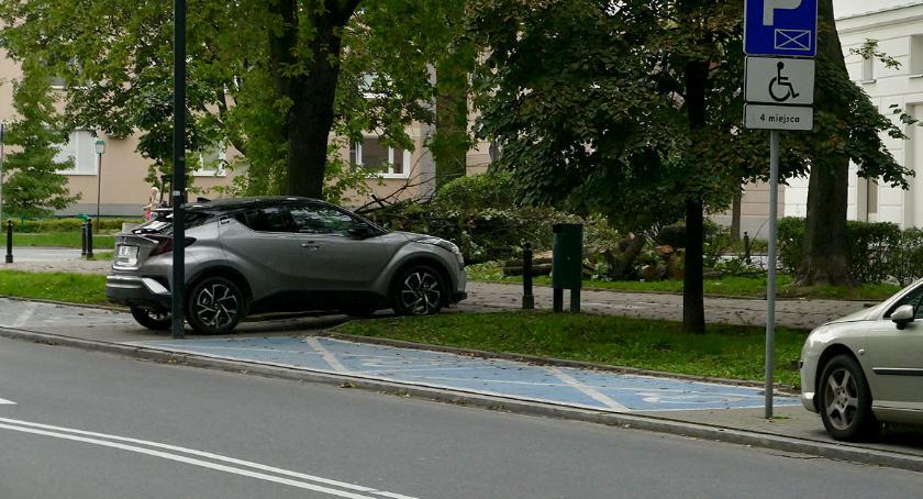 Mistrzowie parkowania, Cwaniak zawsze znajdzie wolne miejsce - zdjęcie, fotografia