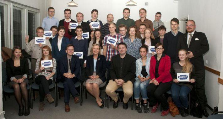 Wydarzenia, Maria Anders spotkaniu Forum Młodych - zdjęcie, fotografia