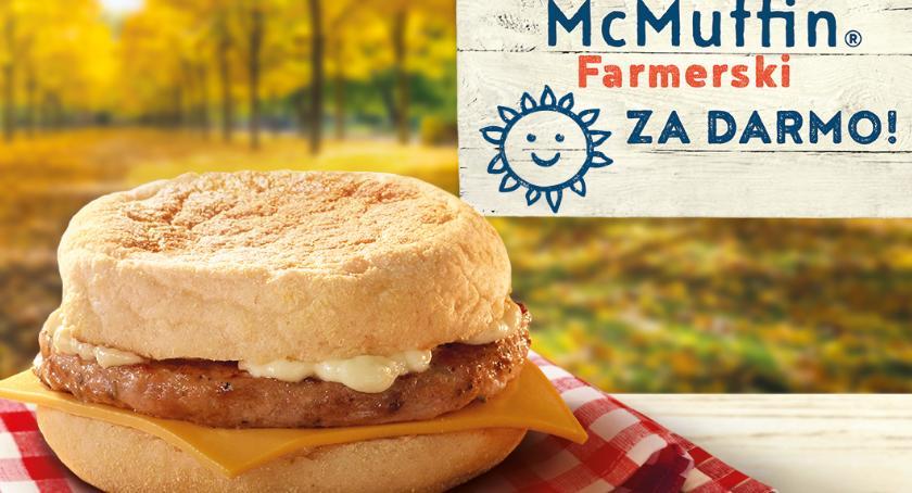 Handel i usługi, McMuffin Farmerski zupełnie darmo! - zdjęcie, fotografia