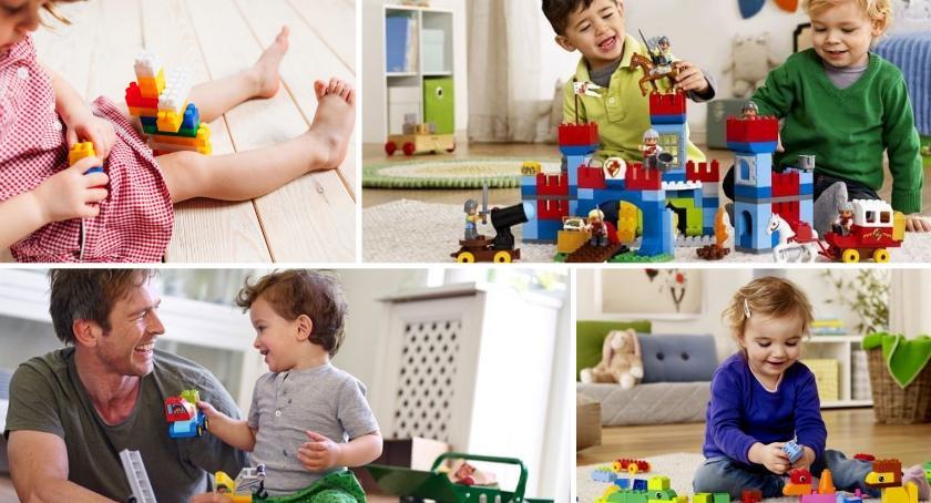 Klocki LEGO rozwijają dzieci, najtańsze w Warszawie