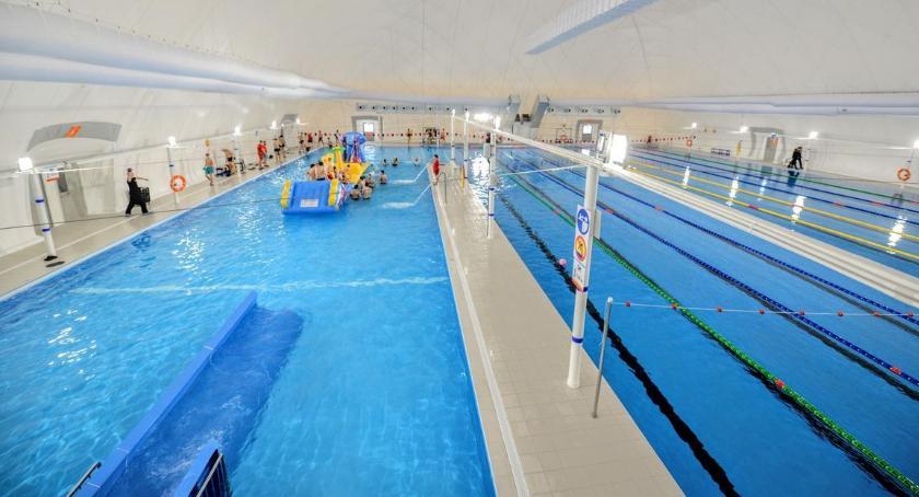 Sport, Pływalnia Inflancka nowej odsłonie - zdjęcie, fotografia