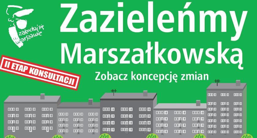 Zieleń, Zazieleńmy ulicę Marszałkowską Chałubińskiego Pawła - zdjęcie, fotografia