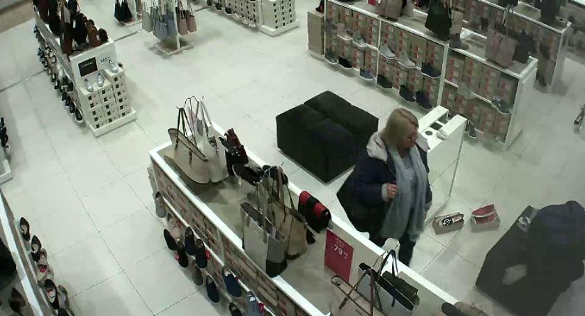 Bezpieczeństwo, Poszukiwana kradzież torebki Rozpoznajecie - zdjęcie, fotografia