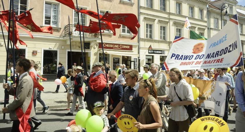 Wydarzenia, Marsz Świętości Życia jutro - zdjęcie, fotografia
