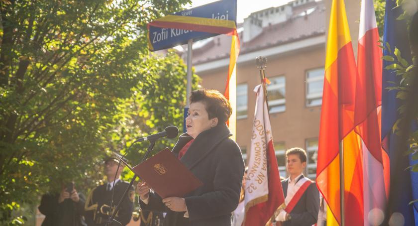 Zieleń, Skwer Zofii Kuwartowskiej - zdjęcie, fotografia