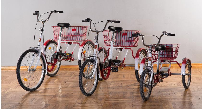 Rower, Otwarcie wypożyczalni rowerowej niepełnosprawnych - zdjęcie, fotografia