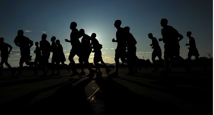 Wydarzenia, Jogging czyli - zdjęcie, fotografia