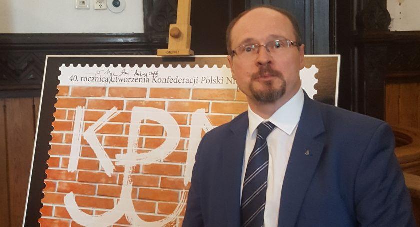 Obchody 40-lecia KPN Krzysztof Robert Górski