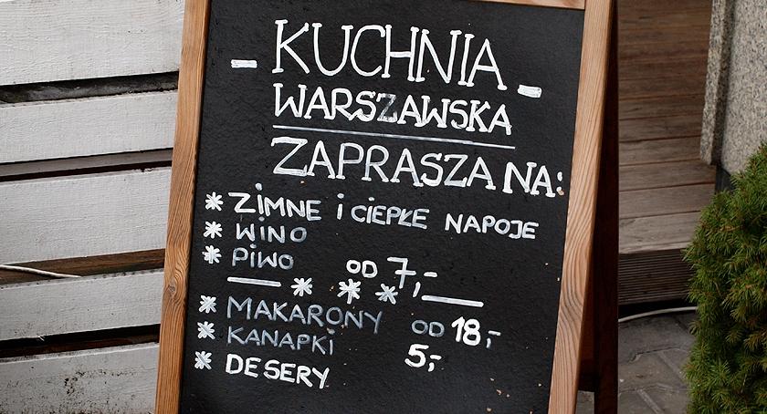 Rozrywka, Warszawska kuchnia - zdjęcie, fotografia