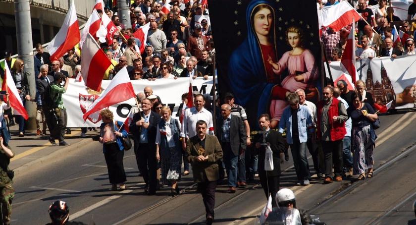 Aktualnosci , Marsz Różańcowa Krucjata - zdjęcie, fotografia