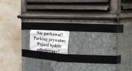 Prywatny parking?
