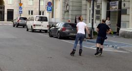 Na rolkach przez Śródmieście