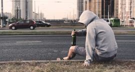 Upił się w centrum Warszawy nielegalnie