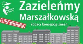 Zazieleńmy ulicę Marszałkowską, Chałubińskiego i al. Jana Pawła II