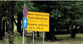 Zamknięty wjazd na Most Śląsko Dąbrowski