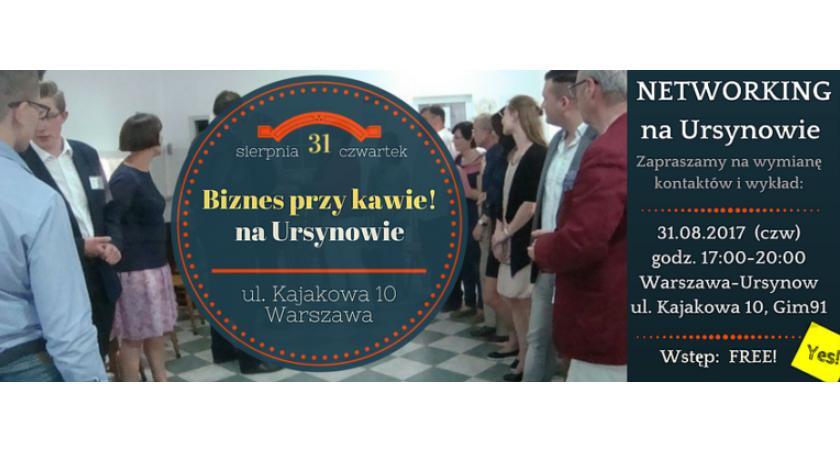 Kursy i szkolenia, Biznes kawie Spotkanie ursynowskich przedsiębiorców - zdjęcie, fotografia