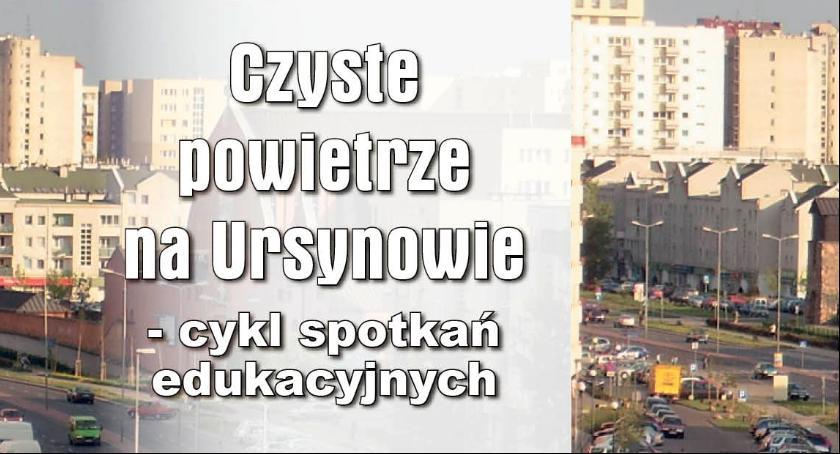 News, Realizacja budżetu partycypacyjnego wykłady temat czystego powietrza Ursynowie - zdjęcie, fotografia