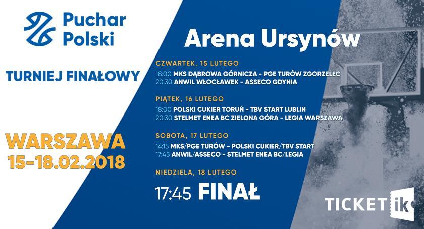 Polecamy!, Bilety wygrania Puchar Polski koszykówce [KONKURS] - zdjęcie, fotografia