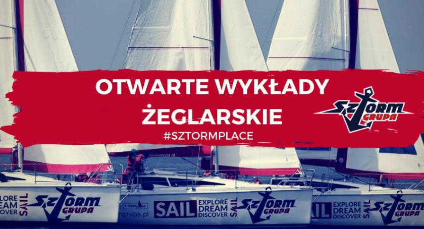 Polecamy!, Wykłady żeglarskie #SZTORMGRUPA - zdjęcie, fotografia