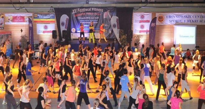 Fitness, Warszawski Festiwal Fitness - zdjęcie, fotografia