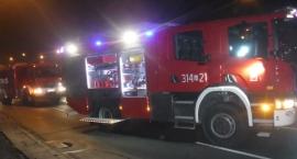 Na ulicy Surowieckiego spłonęły trzy samochody