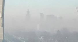 Duże stężenie smogu na Ursynowie