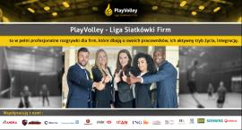 Jesienna edycja Ligi Siatkówki Firm - PlayVolley