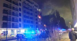 Spłonęło mieszkanie na Ursynowie -zaczęło się od świeczek