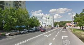 Samochód osobowy zderzył się z busem na ulicy Belgradzkiej