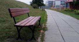 Zarząd Oczyszczania Miejskiego postawił nowe ławki