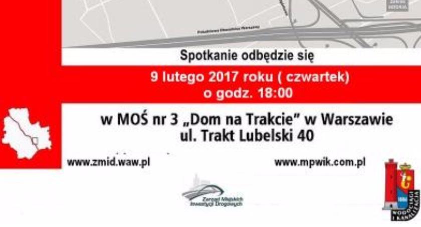 Komunikacja, Przebudowa Wału Miedzeszyńskiego spotkanie informacyjne - zdjęcie, fotografia