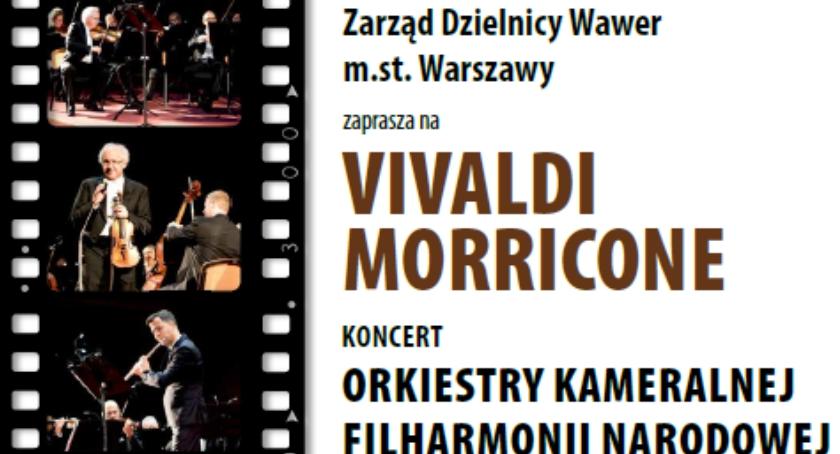 """Koncerty, """"Vivaldi Morricone"""" koncert muzyki filmowej - zdjęcie, fotografia"""