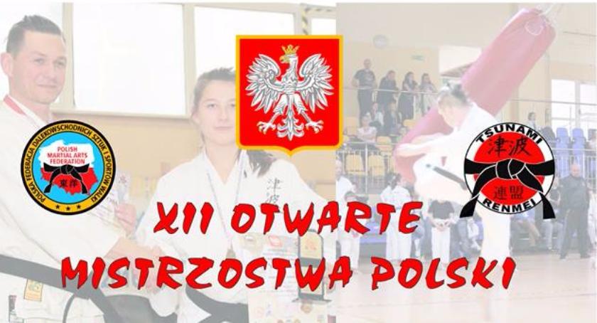 Inne dyscypliny, Otwarte Mistrzostwa Polski Karate Tsunami - zdjęcie, fotografia