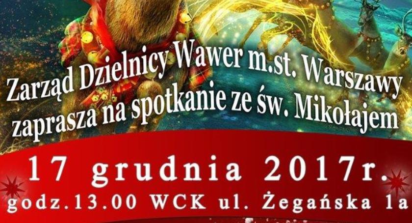 Urząd dzielnicy, Spotkanie Mikołajem niedzielę Odbierzcie bezpłatne wejściówki Tylko dzisiaj jutro! - zdjęcie, fotografia