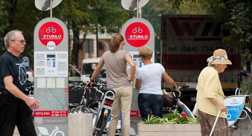 Rower, Będzie stacja Veturilo Wawrze - zdjęcie, fotografia