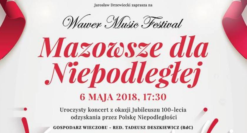 Koncerty, Wawer Music Festiwal Zespół Mazowsze Wawrze - zdjęcie, fotografia