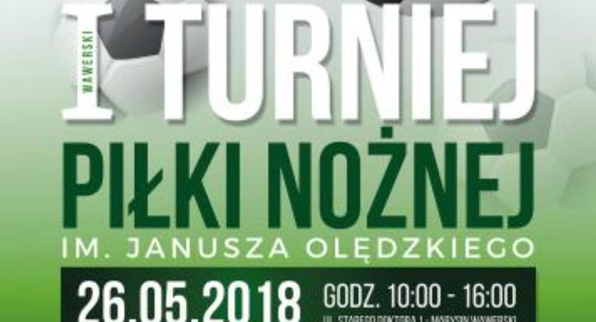 Imprezy, Turniej Piłki Nożnej Janusza Olędzkiego sobotę! - zdjęcie, fotografia