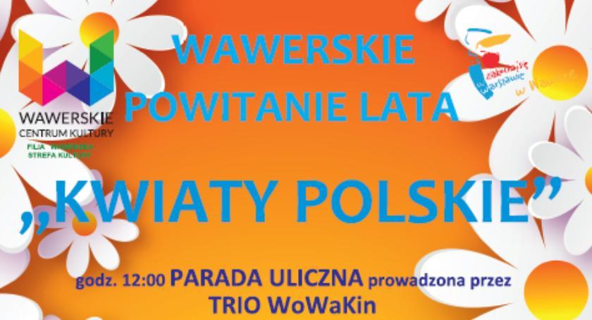 Imprezy, Bogaty program Wawerskiego Powitania - zdjęcie, fotografia