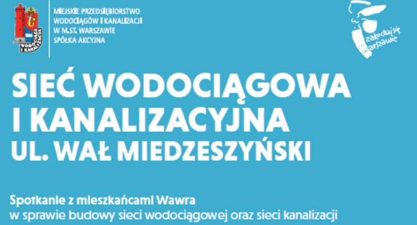Inwestycje, Rozbudowa Wału Miedzeszyńskiego Spotkanie mieszkańcami - zdjęcie, fotografia