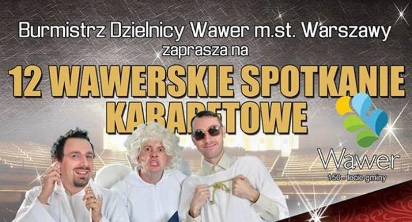 Koncerty, Wawerskie Spotkanie Kabaretowe - zdjęcie, fotografia